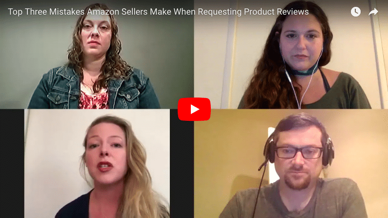 Top Three Mistakes Amazon Sellers Make When Requesting Product Reviews